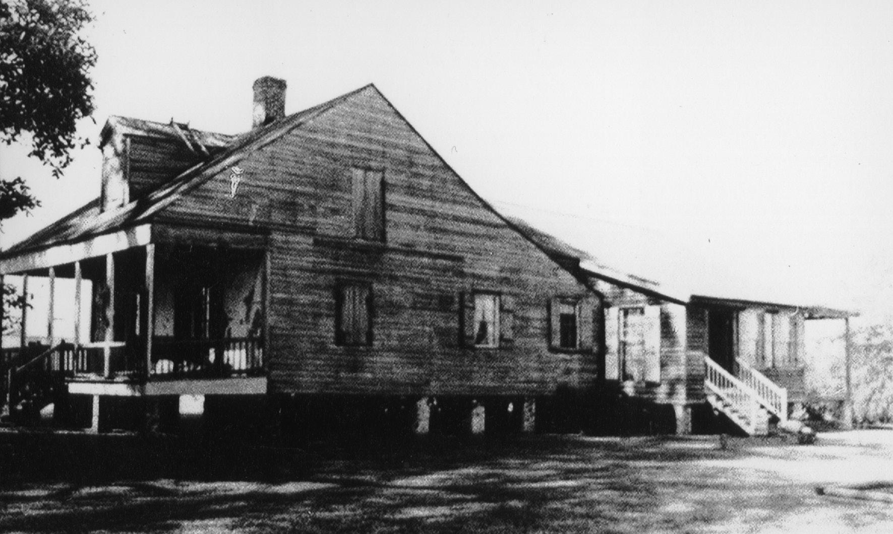 The Luke Troxler House