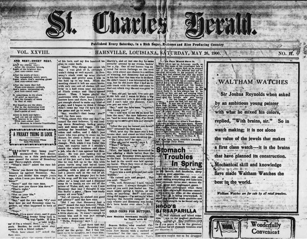 St. Charles Herald 1900