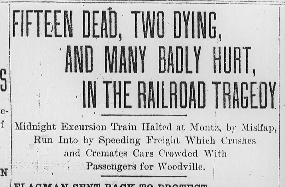 Montz Train Wreck