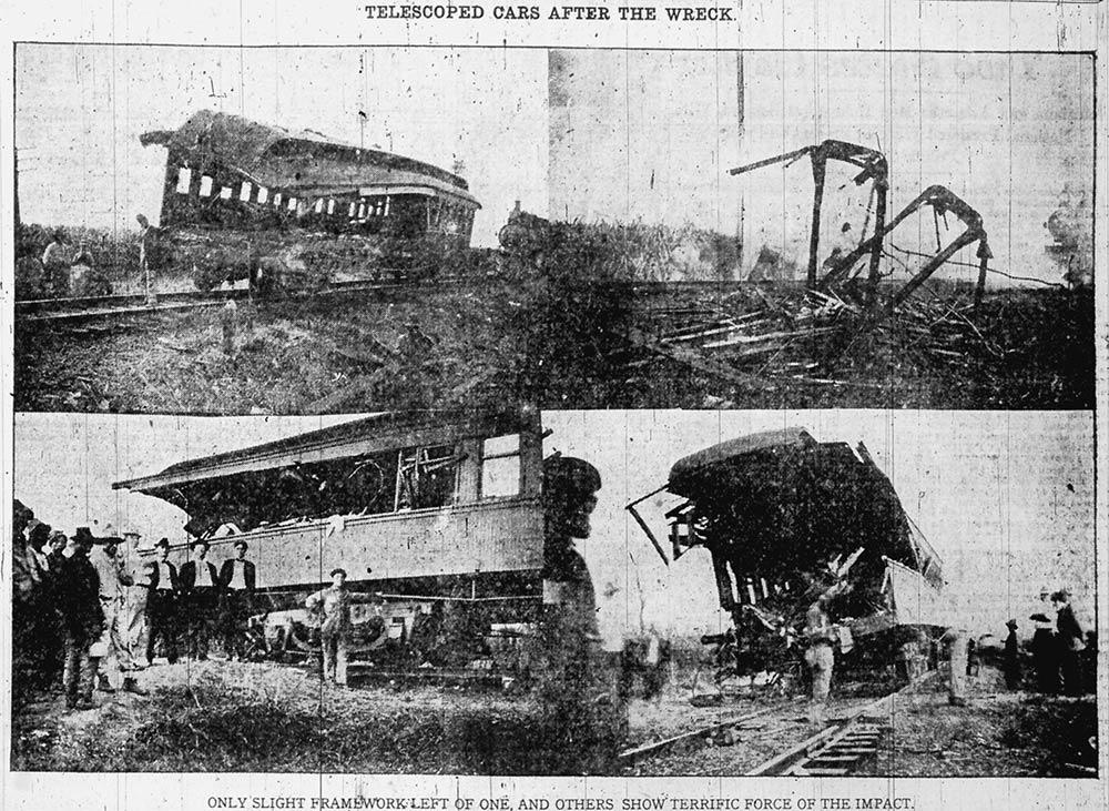 Train Wreck in Montz