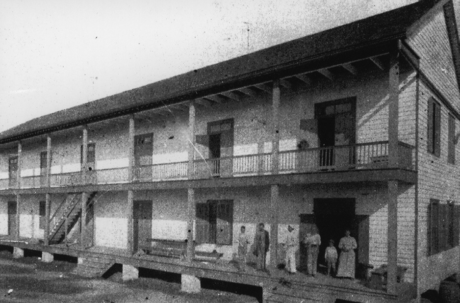 The Bowie Lumber Company Boarding House