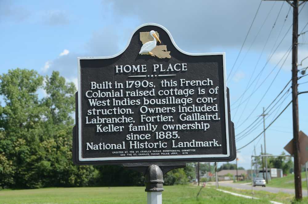Home Place Historical Marker - Image