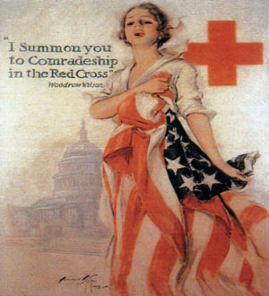 Red Cross Poster - Image