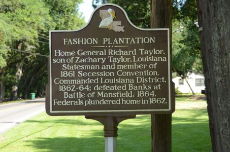 Fashion Plantation Historical Marker - Image