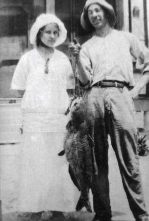 Nora Zeringue and John Lehmann