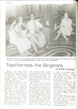 Togetherness - The Bergerons | Vol. 1 No. 4