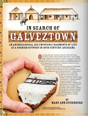 In Search of Galveztown: Vol. 20, Issue 1