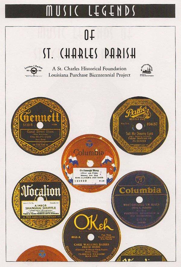 Music Legends of St. Charles Parish Pamphlet