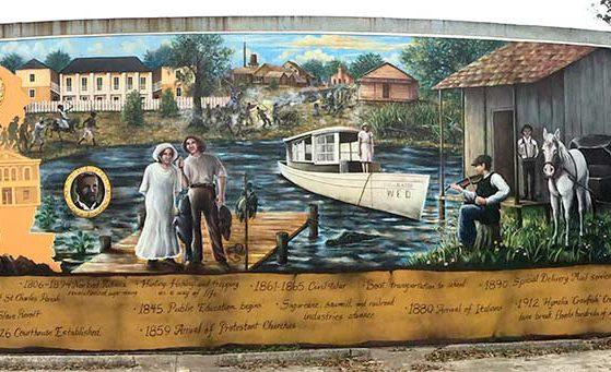 St. Charles Parish History Mural
