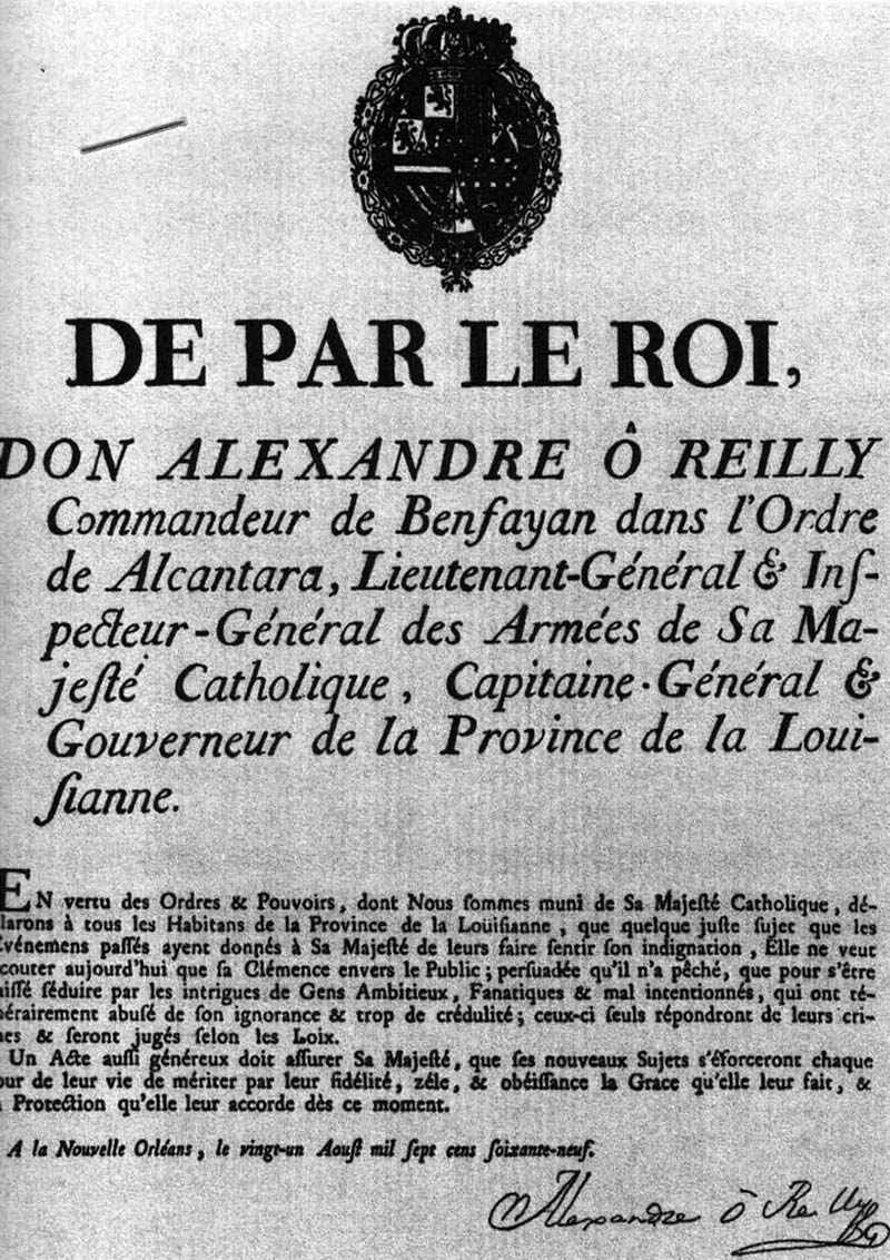 O'Reilly's Proclamation of Amnesty
