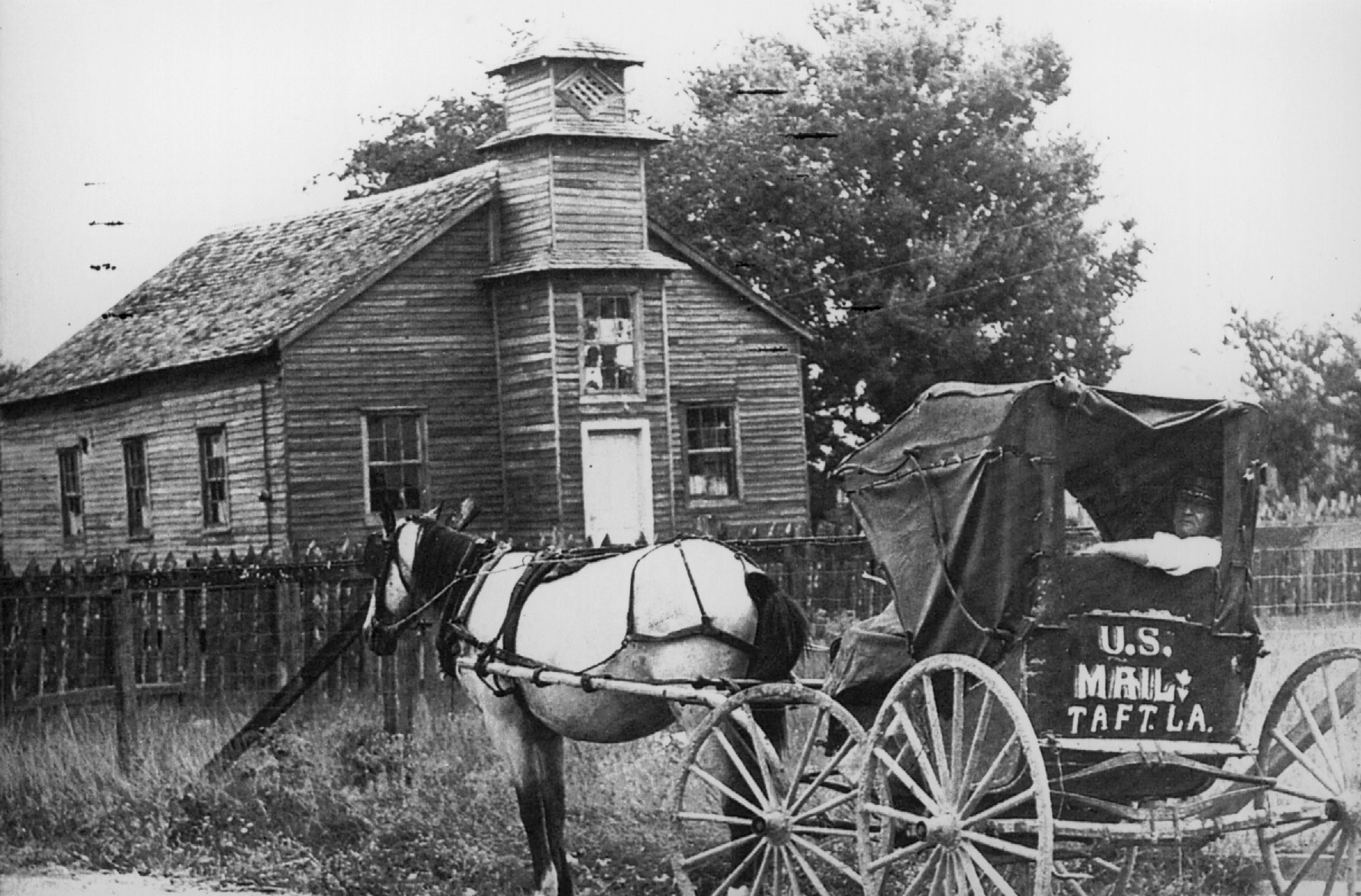 Early Mail Carrier