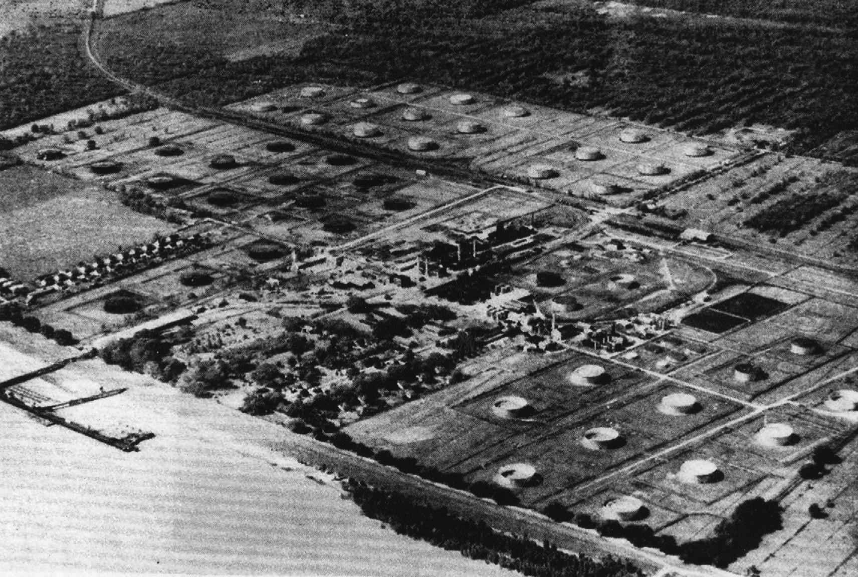 Pan American / Amoco Refinery