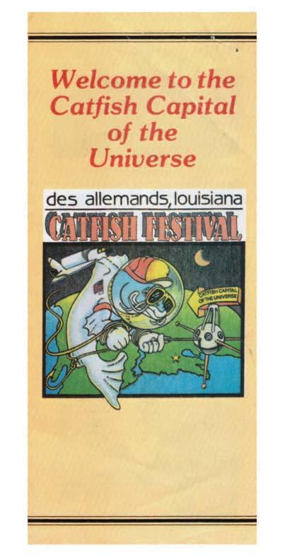 Catfish Festival Brochure