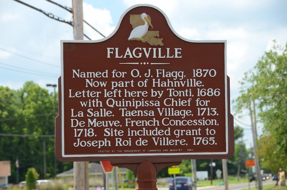 Flaggville Historical Marker