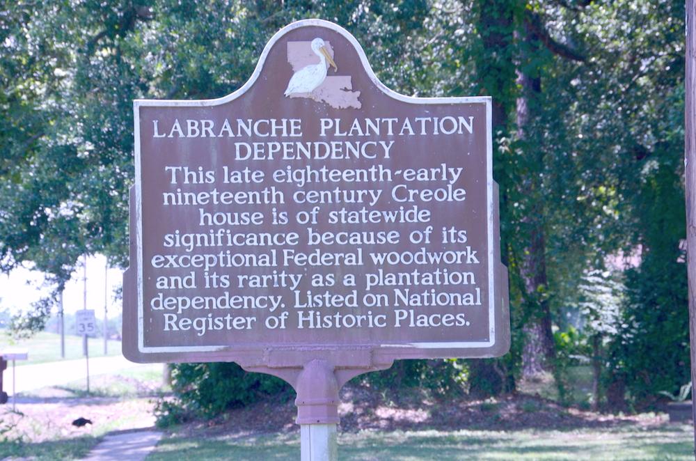 LaBranche Plantation Dependency Historical Marker - Image