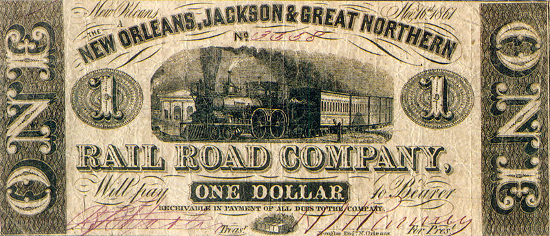 Railroad Currency - Image