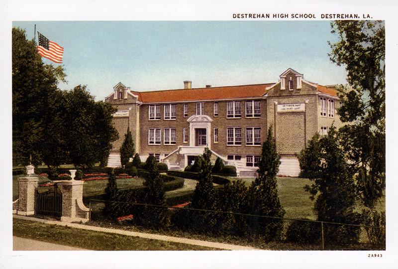 Destrehan High School Postcard