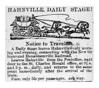 Hahnville Daily Stage - Image