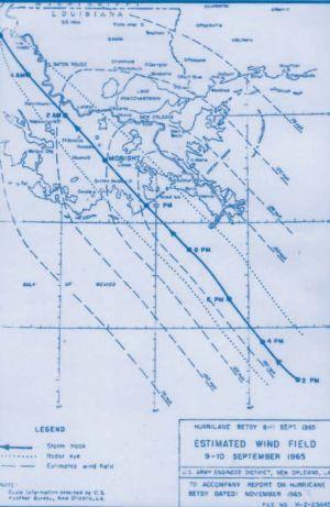 Hurricane Betsy - Image