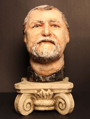 Bust of Michael Hahn