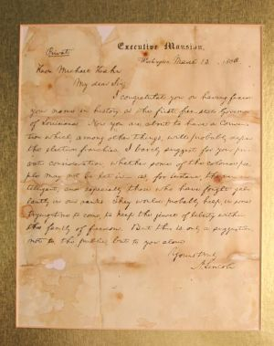 A Letter from Lincoln to Hahn: The Late President Lincoln on Negro Suffrage