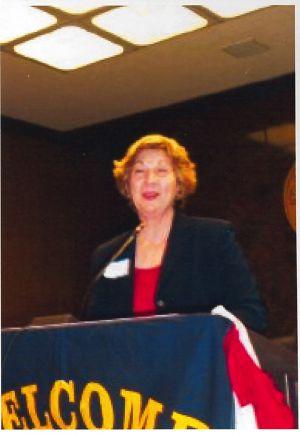 Nancy Wilson at Hahn Dedication