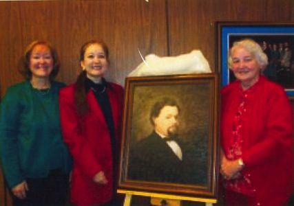 Descendants of Hahn at Dedication