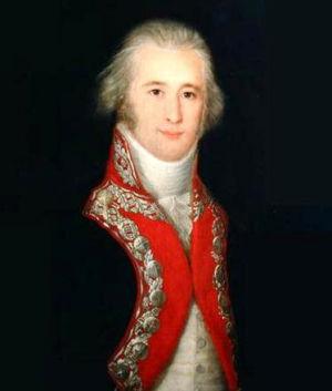 Portrait of Alejandro O'Reilly, Francisco José de Goya