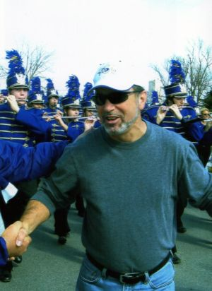 HHS Band Director David Rosenthal in 2008