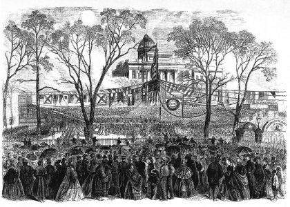 Inauguration of Governor Michael Hahn