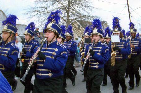 Hahnville High School Band - Mardi Gras 2006