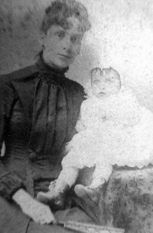 Mrs. Numa Zeringue and Daughter