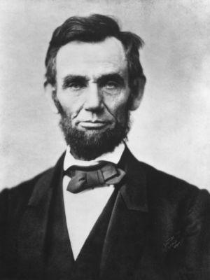 President Abraham Lincoln - Image