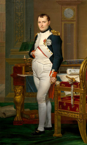 The Emperor Napoleon in His Study at the Tuileries - Image